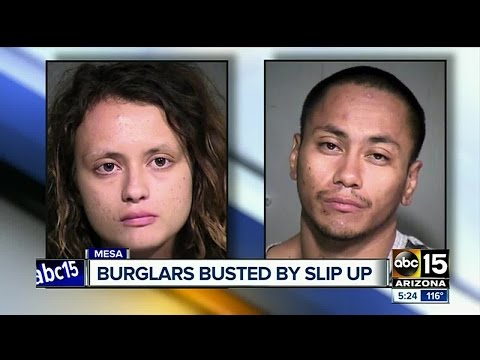 Mesa PD: Victim, witness and a dropped citation help police nab burglars