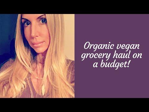 Organic Vegan Grocery Haul
