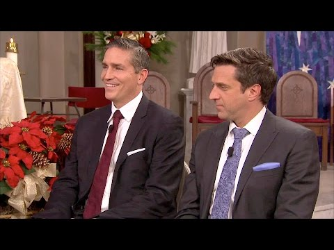 Jim Caviezel & Raul Esparza -- Talk About Christmas