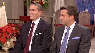 Video Jim Caviezel & Raul Esparza -- Talk About Christmas download MP3, 3GP, MP4, WEBM, AVI, FLV Juni 2017