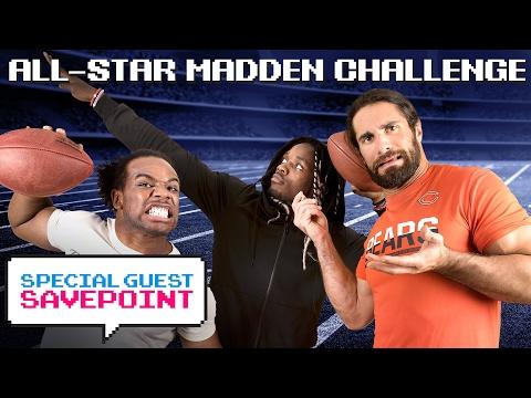 Los Angeles' MELVIN GORDON vs. SETH ROLLINS: AllStar Madden Challenge — Special Guest Savepoint
