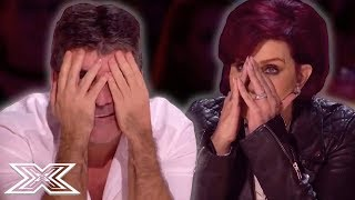 MOST DRAMATIC 6 Chair Challenges EVER | X Factor Global