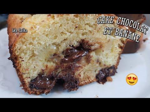recette-facile-:-cake-chocolat-banane-super-moelleux---lea-laika