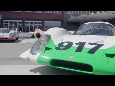 Porsche restored the first 917 to its original glory