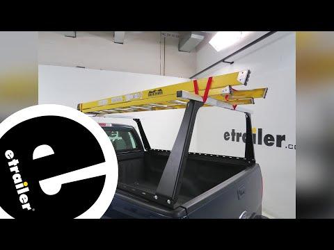 review adarac truck bed ladder rack a90630 - etrailer.com