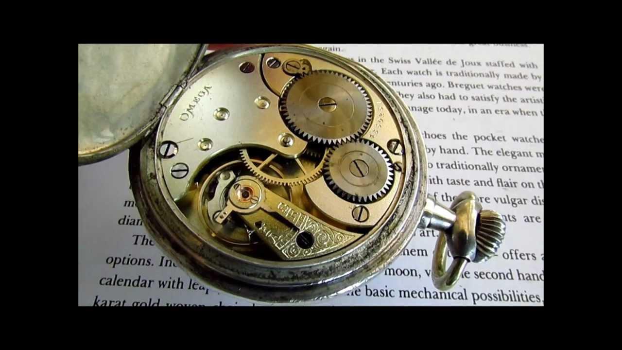 Wwi German Pilot's Award Omega Grand-prix Silver Watch ...