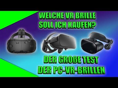 Welche PC VR Brille soll ich kaufen? Der große Vergleich 2018 [Vive] [Rift] [Windows Mixed Reality]