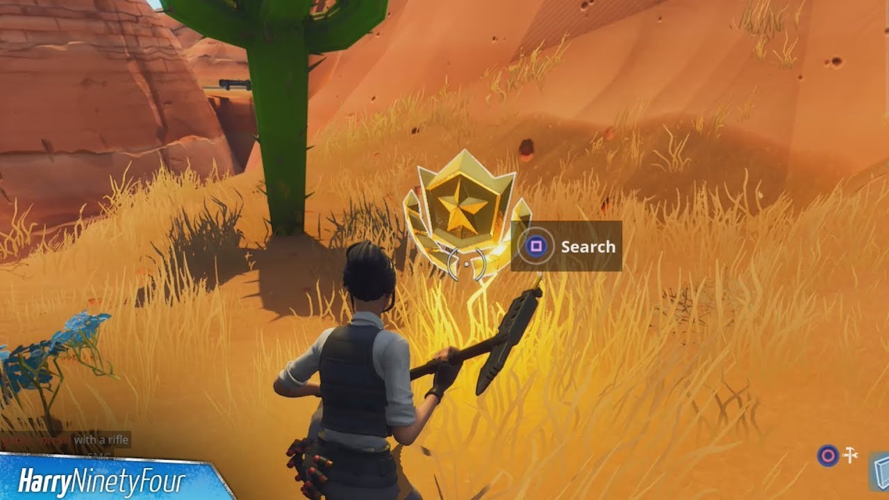 Search Between An Oasis Rock Archway Dinosaurs Challenge Location Guide Fortnite Battle Royale