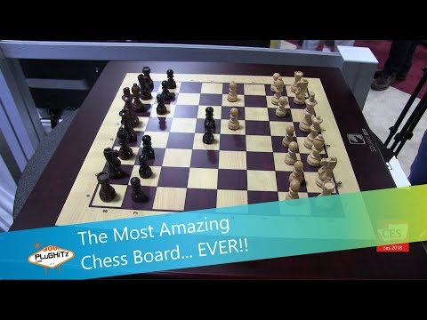 The Most Amazing Chess Board... EVER!! @ CES 2018