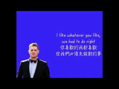 l中文字幕l Michael Bublé - No Body But Me