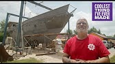 Man Builds 74ft. Boat in Front Yard  - COOLEST THING I'VE EVER MADE - EP12