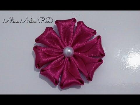 Flor fácil e rápido de fazer Aula 92