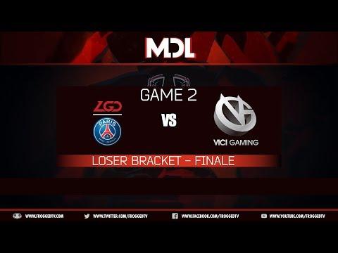 [MDL Changsha Major] PSG.LGD vs Vici Gaming - G2 - Playoffs - LB finale