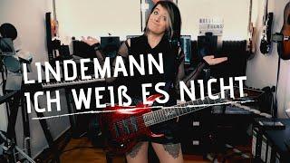 Lindemann - Ich weiß es nicht Guitar Cover [4K / MULTICAMERA] *PATREON SPECIAL*