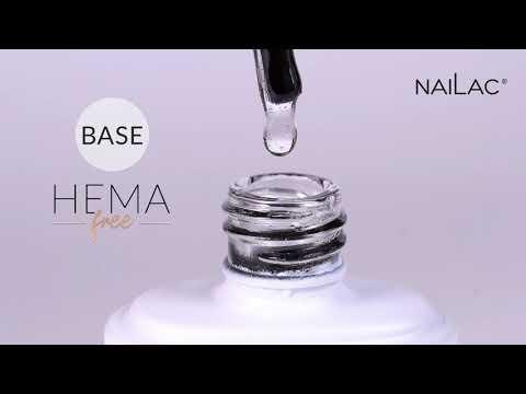 Video: Hema Free Hybrid base coat NaiLac 7ml