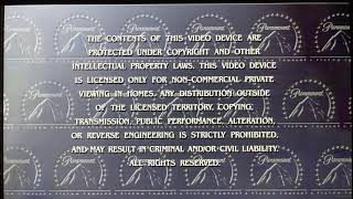 Opening to The Score 2001 DVD
