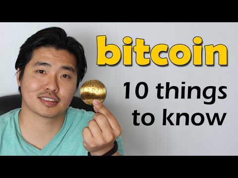 10 Things to Know about Bitcoin from YouTube · Duration:  4 minutes 8 seconds