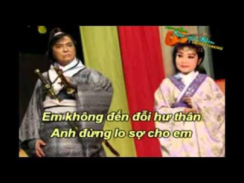 karaoke Trich doan  NGUOI TINH TREN CHIEN TRAN  (  thieu giong nam  )