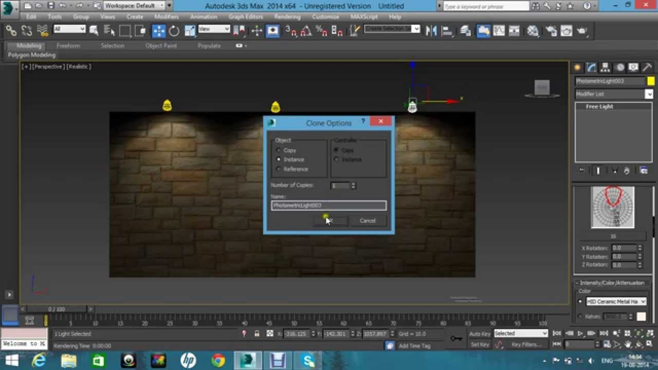 Autodesk3ds Max Ies Light With Out V Ray Tutorial