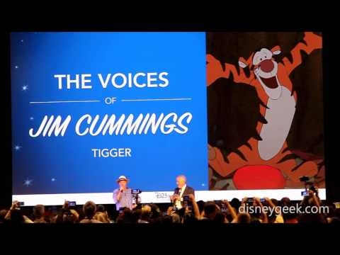 D23 Expo 2017: Center Stage - The Voices of Jim Cummings (Tigger Clip)
