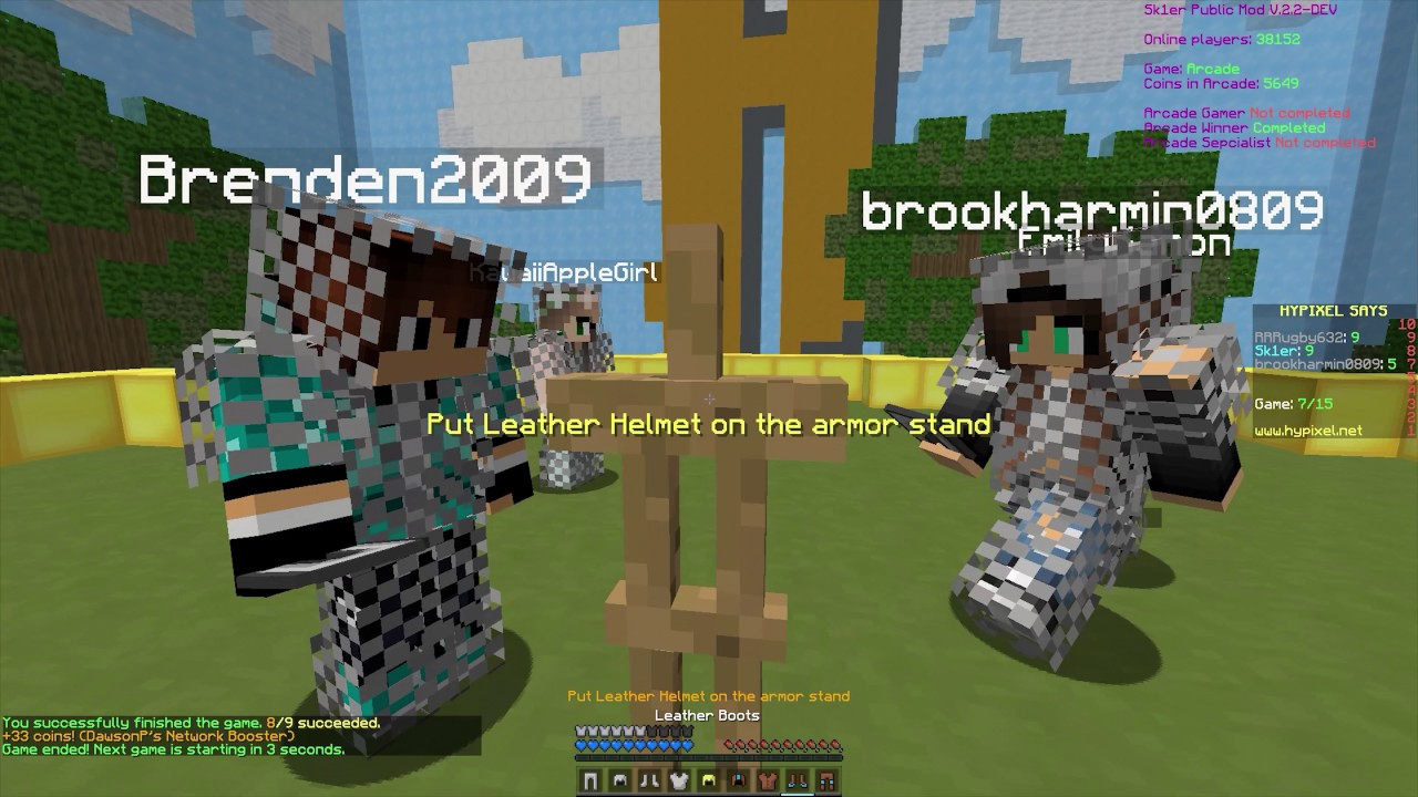 How to be a leaderboard player on Hypixel - YouTube