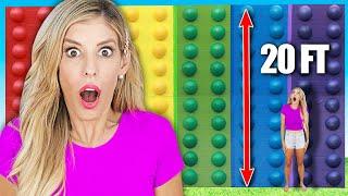WORLD&#39S LARGEST DIY POP IT - Rebecca Zamolo