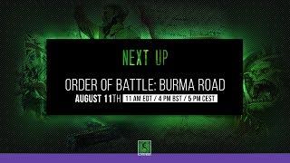 Order of Battle : Burma Road!