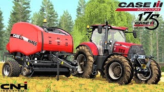 Farming Simulator 17   Case Puma 175CVX Anniversary + Case IH RB465 Preview Test
