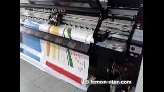 Solvent digital large format printer dp 3208 xaar 128 printhead printing banner and vinyl