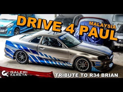 Progress Work R34 - Drive 4 Paul Malaysia