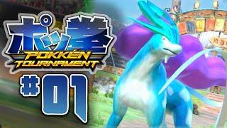 DOMINATING in GREEN LEAGUE!! - Pokkén Tournament (Episode 1)
