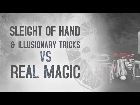 Sleight Of Hand & Illusionary Tricks VS Real Magic || Defence Against The Dark Arts