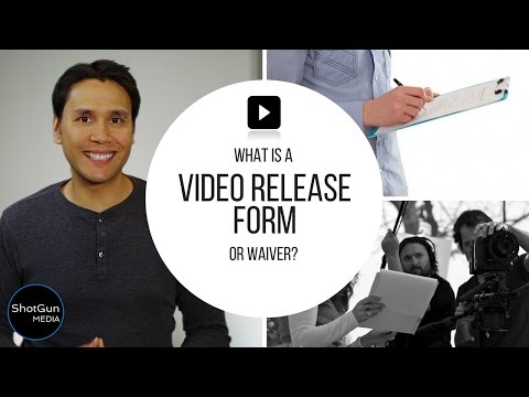 What Is A Video Production Release Form Or Waiver