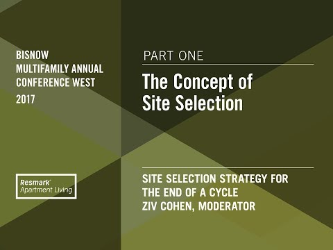 The Concept of Site Selection