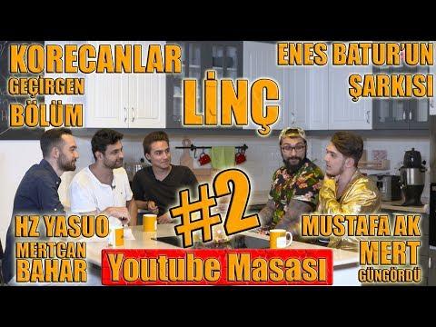 Youtube Masası #2 / BTS / Gündemdeki Linç ve Geçirmeler/ Hz Yasuo /Mert G. / Mertcan B. / Mustafa Ak