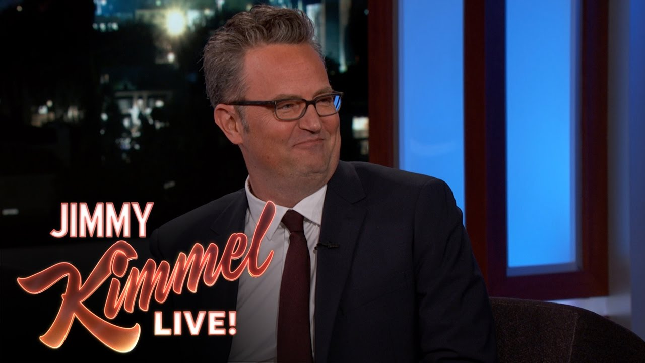 c012dccb1c1 Matthew Perry Has a Batcave in His House - YouTube