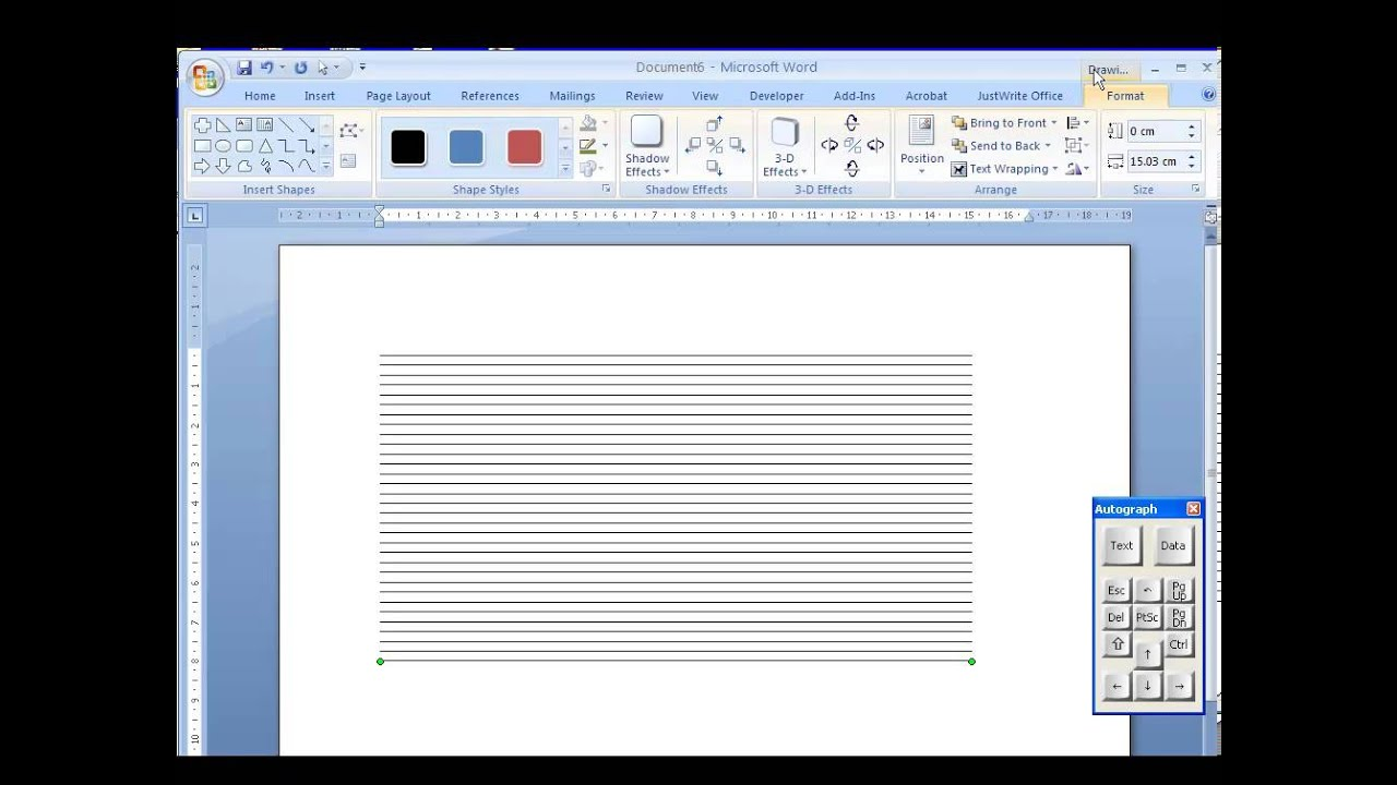 Customised graph paper - YouTube - graph paper word document