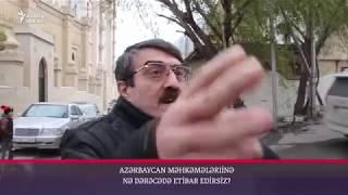 """""""Məmə yeyəndən pəpə yeyənə kimi hamı bilir bunu"""" - Vətəndaşlar danışır"""
