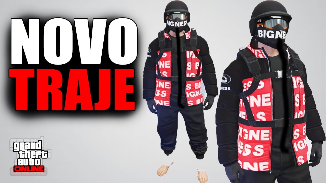 GTA 5 ONLINE: NOVO TRAJE MODDED INSANO!! [SEM HACK] PS4, XBOX ONE, PC!