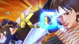 Destaque Seven Points SFV - Chun-li vs Sakura - Match 1