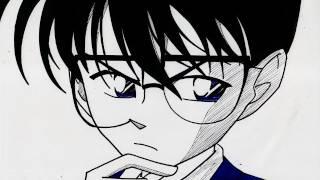 HOW TO DRAW  DETECTIVE CONAN  名探偵コナン