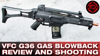 VFC H&K G36 GBB Review and Shooting