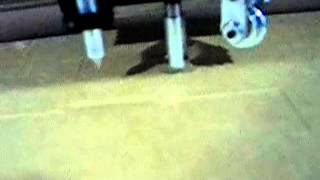 планшетный режущий плоттер для резки гофрокартона(, 2014-11-03T07:12:30.000Z)