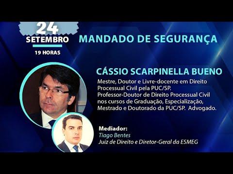 ESMEG - Palestra  - Cássio Scarpinella Bueno - Mandado de Segurança
