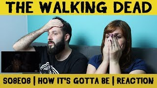 Video REACTION/REAÇÃO | THE WALKING DEAD | HOW IT'S GOTTA BE - S08E08 download MP3, 3GP, MP4, WEBM, AVI, FLV Desember 2017