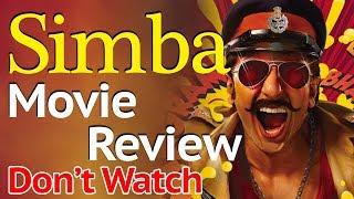SIMMBA Movie Review | Ranveer Singh | IP News | Ashutosh Kaushik