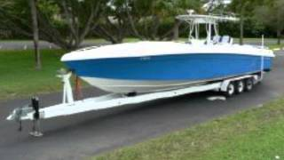 37' Midnight Express Custom Cuddy Boat for Sale
