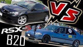 DRAG Acura RSX K20/24 vs EG B20VTEC