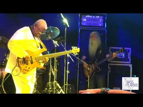 Download Youtube: All-star bass jam: Jonas Hellborg, Steve Bailey, Lee Sklar, Abe Laboriel
