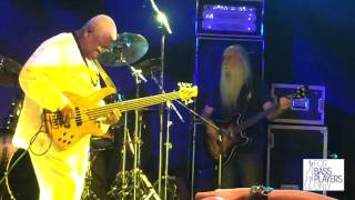 All-star bass jam: Jonas Hellborg, Steve Bailey, Lee Sklar, Abe Laboriel